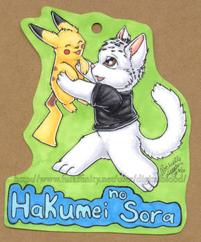 AC- Badge- Hakumei No Sora