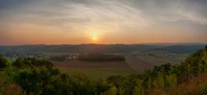 Sunset Panorama by GuitarFreak2