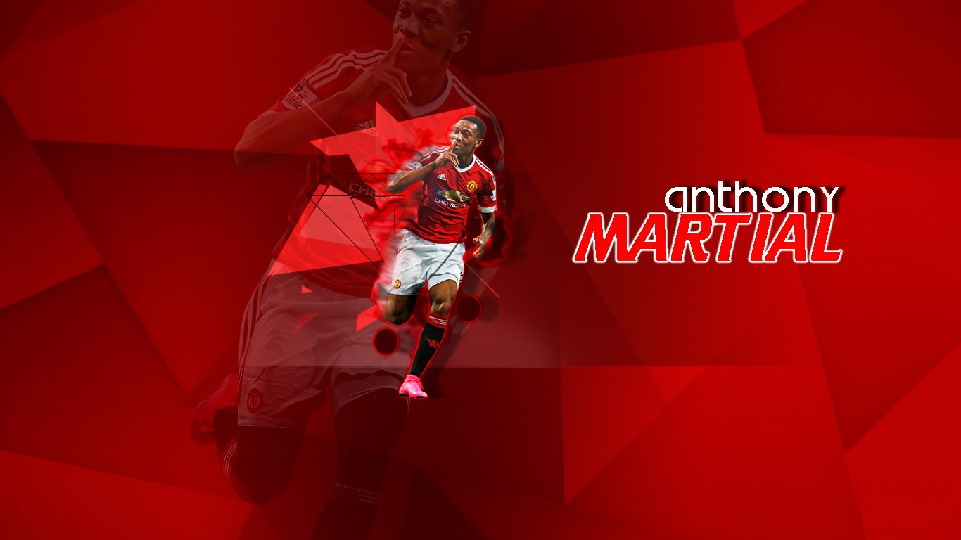 Anthony Martial Wallpaper By HariharanVishal On DeviantArt