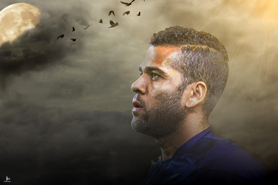 Dani Alves Photomanipulation by HV by HariharanVishal