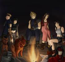 Final Fantasy VII by Arabesque91