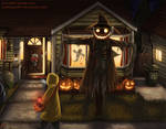 Trick or Treat - Halloween 2017