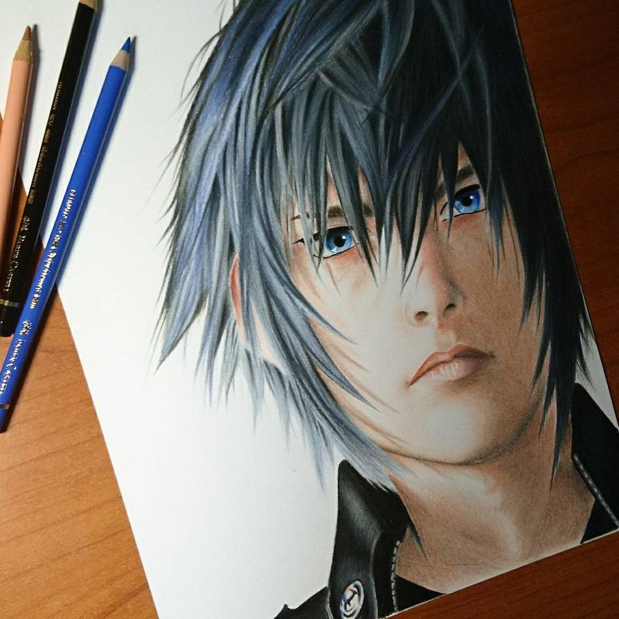 Noctis from Final Fantasy XV  by ThomasArt98