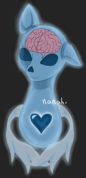 [Extra adopt art] pony bust
