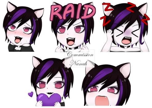 [Commission] Twitch/Discord emotes
