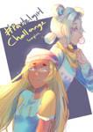Pastel Girl Challenge 2018