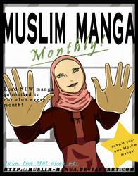 Muslim Manga Logo by sarroora