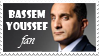 Bassem Youssef Stamp by sarroora