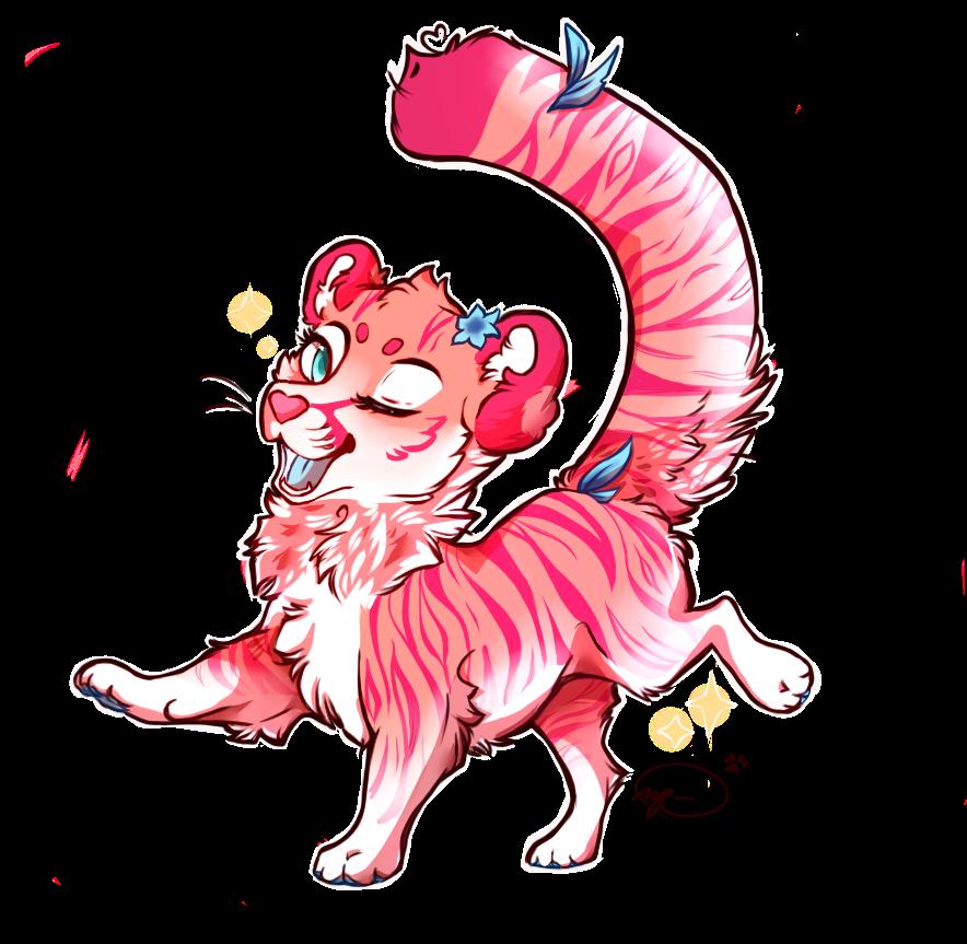 happy go kitty. by Miinkee