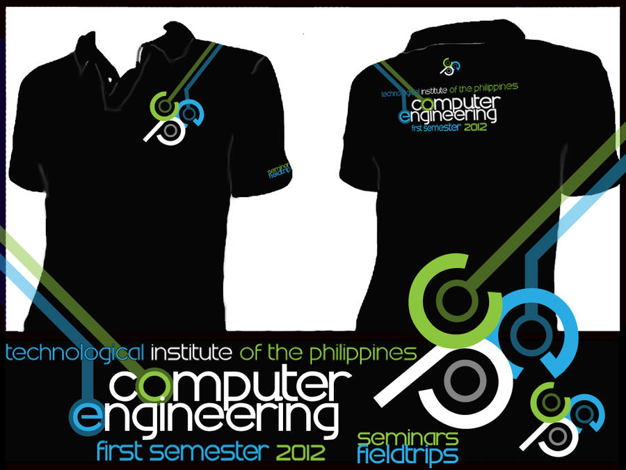 Cpe seminars fieldtrips poloshirt design tip by ridzlowell for Mechanical logos for t shirts