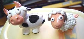 Cow + sheep