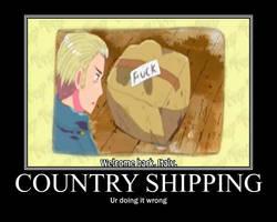 Country Shipping Motivational by mewmiya