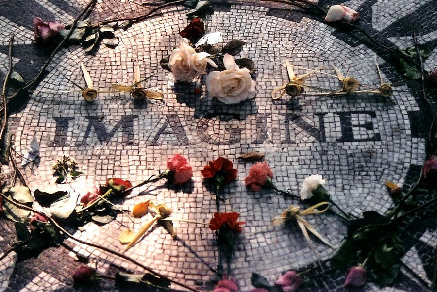 a view on the song imagine and the world peace The philosophy of john lennon  to the media to bring attention to the cause of world peace  this view lies at the heart of his song instant karma with its.
