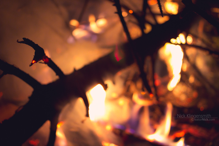 Glow of a Fire by koujaku