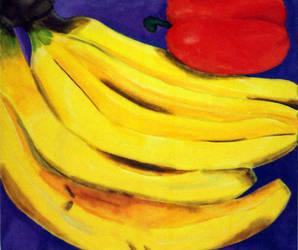 Bananas by mechaphreak