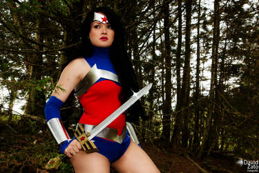 Wonder Woman Justice League War by hipolyta25