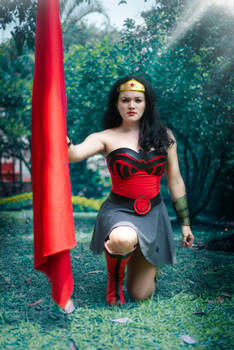 Wonder Woman  Cosplay  red son
