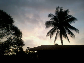 The Sunset... (In Kampung Sungai Legum) by Qiaros
