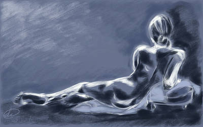 figure drawing 1  by Paradoxink