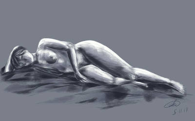 figure drawing 3 by Paradoxink