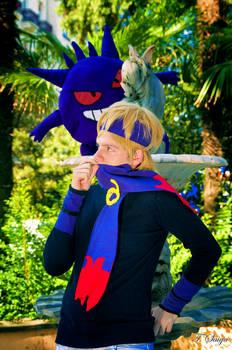 Pokemon Morty trainer