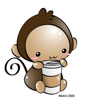 Monkey Coffee by Mishiri