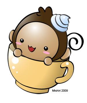 Monkey Cup by Mishiri