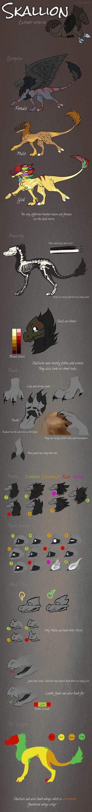 Skallion - Closed Specie Reference by Solariorr