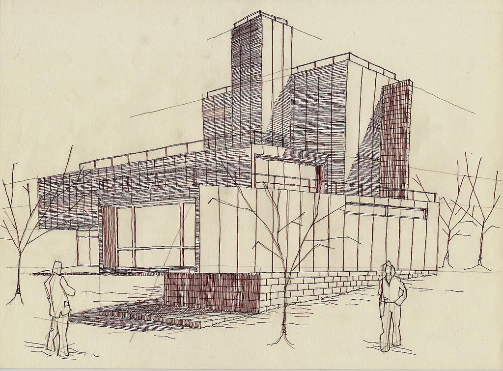 Arquitectura dibujo 12 by jujo on deviantart - Mesa de dibujo para arquitectura ...