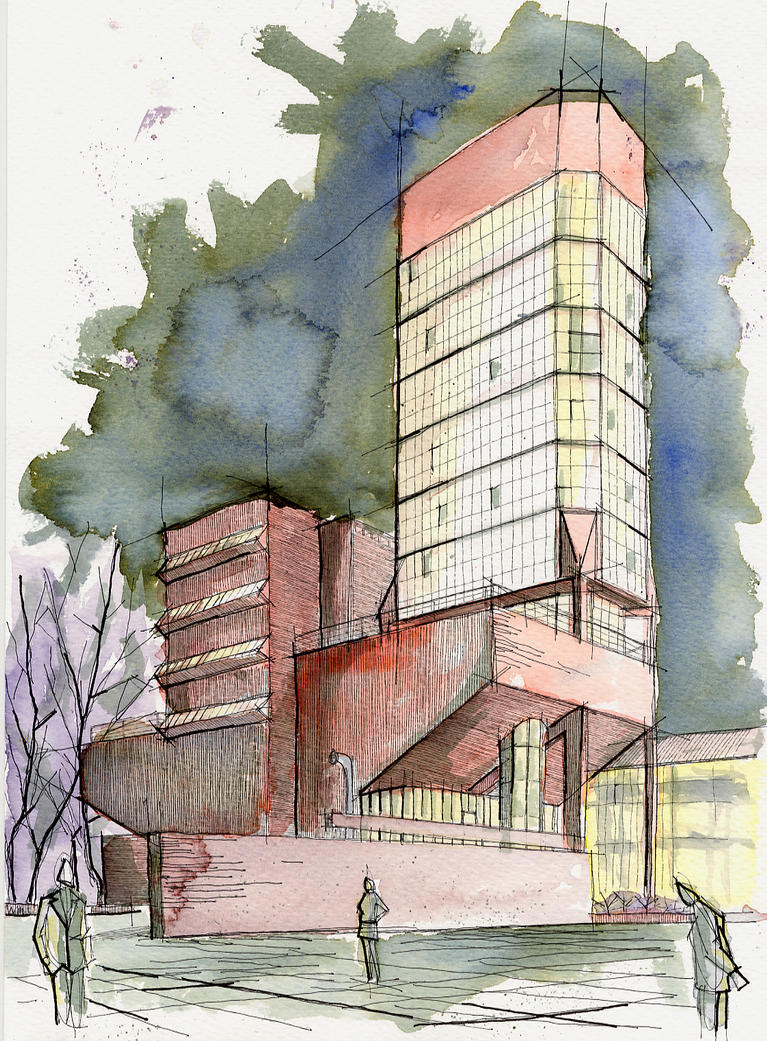 Arquitectura dibujo 31 by jujo on deviantart for On arquitectura