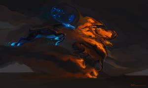 Fiery gallop