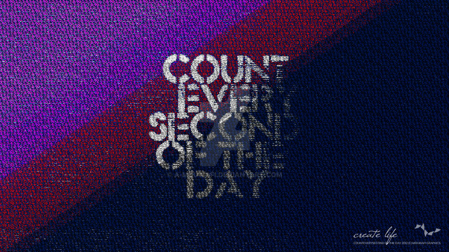 Count every second of the day by A-Mouwafi