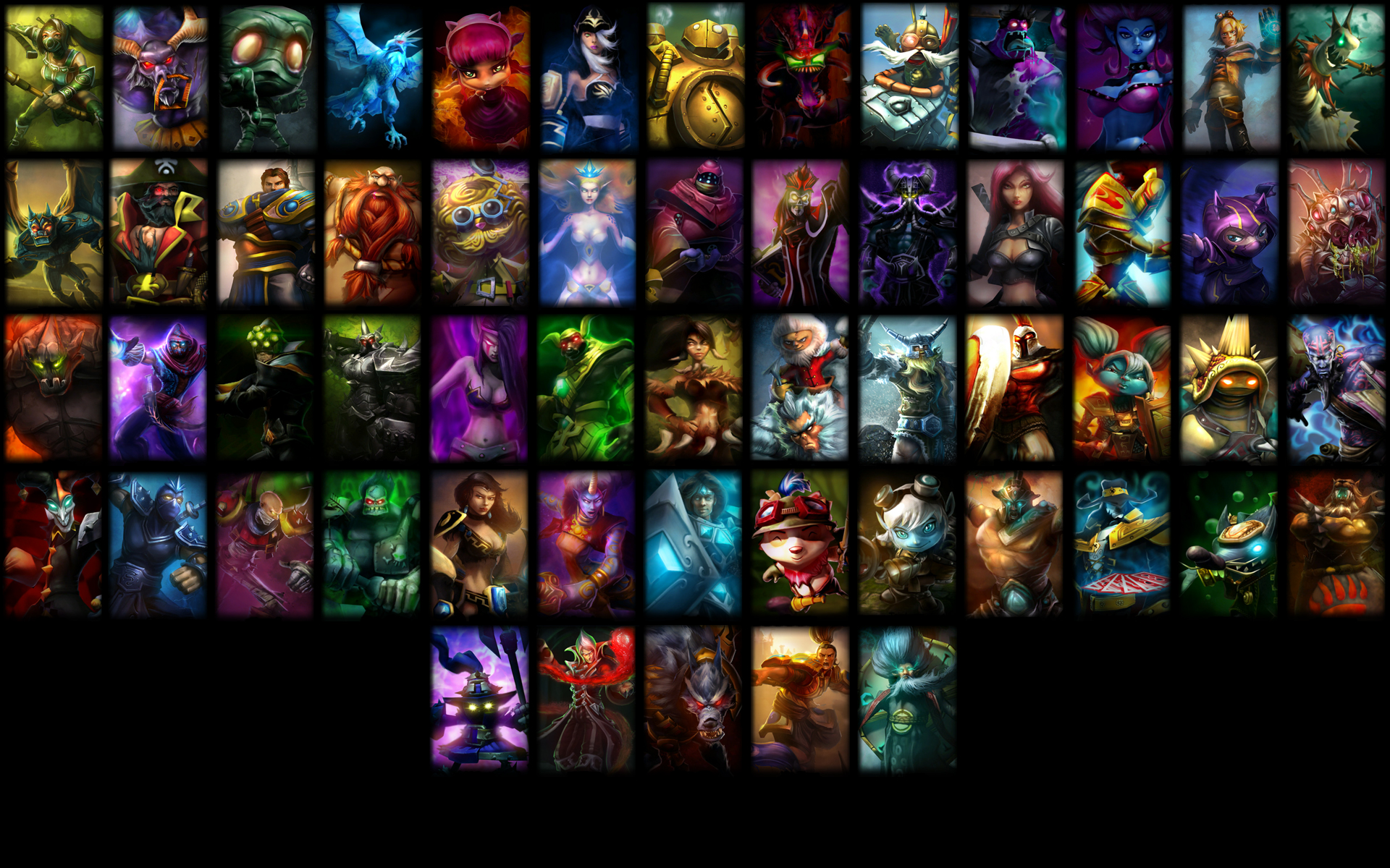 League of Legends Wallpaper by 9warbane