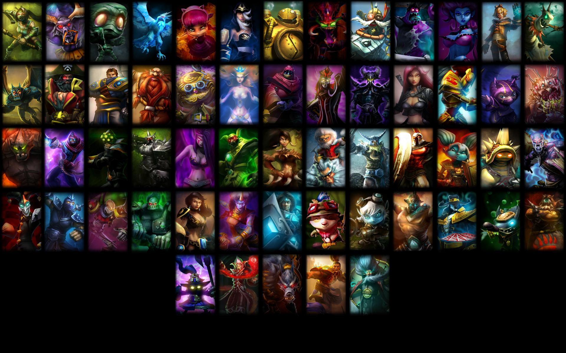 League of Legends Wallpaper by 9warbane