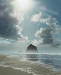 Beach by Kassary
