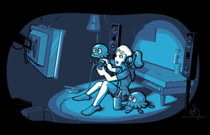 A night of video gaming by matheist