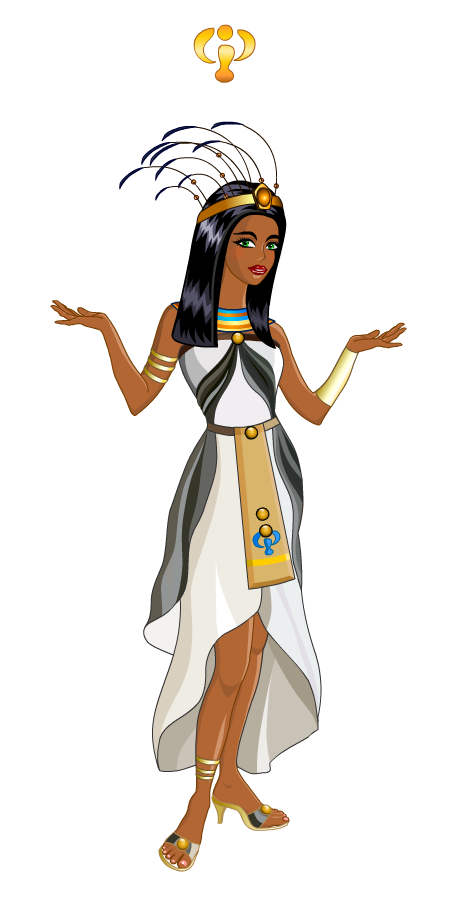 Egyptian Cat Trickster Game