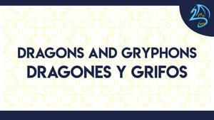 P Dragones y grifos