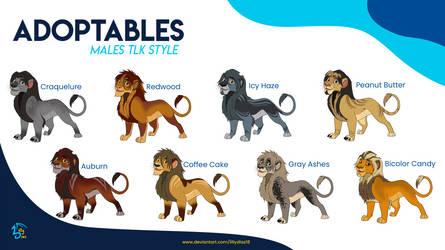 TLK Lions adoptables 1 (OPEN)