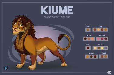 Reference Sheet - Kiume (Com)