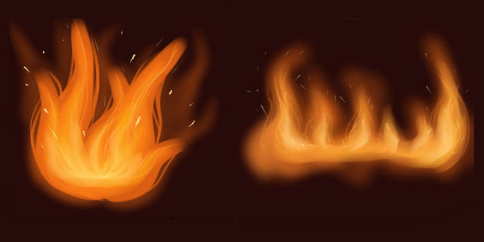 Fire sketches