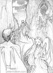 Fallen Angel by ellenmillion