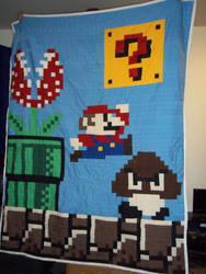 Mario Quilt by tacotopher