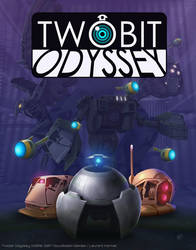 Twobit Odyssey Cover Art by lkermel