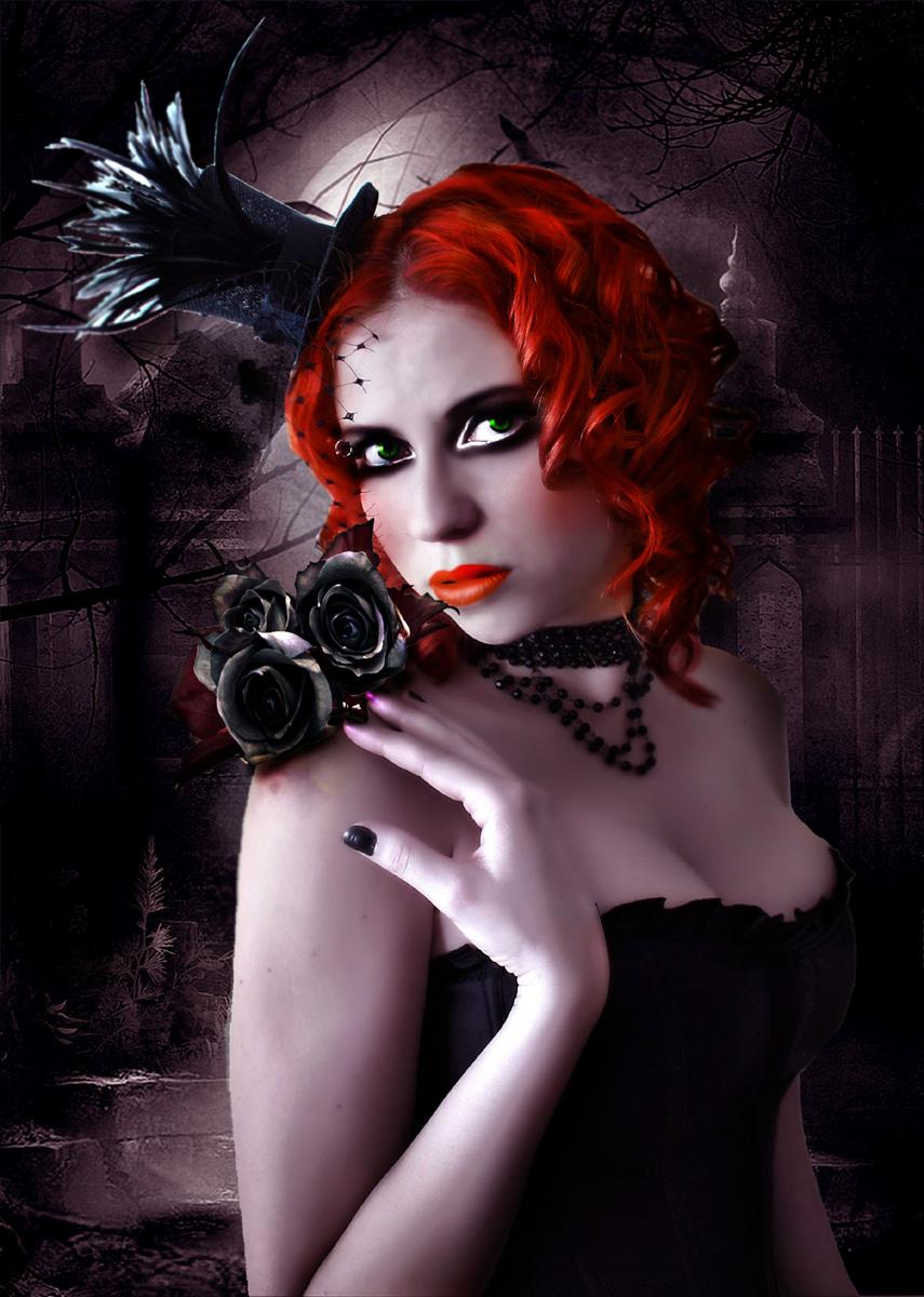Black roses by Duchess-bgd