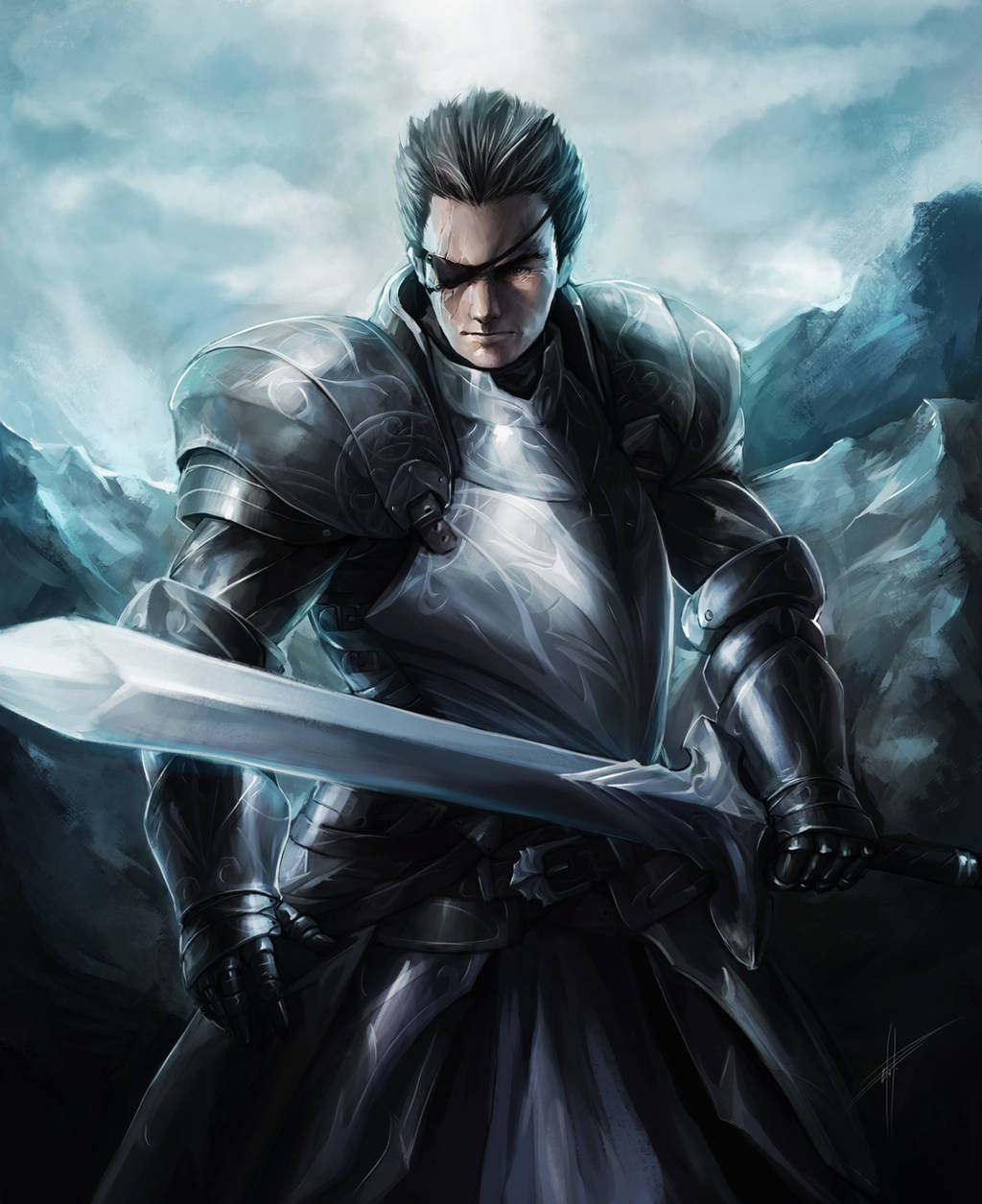 Knight Captain by eko999