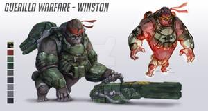 Guerilla warfare - Winston