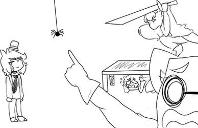 .spider problems. .draw the squad.