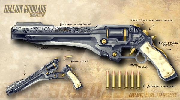 Hellion Gunblade by redrab8t