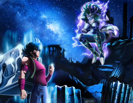 Saint Seiya - Seiya VS Shaina - Final